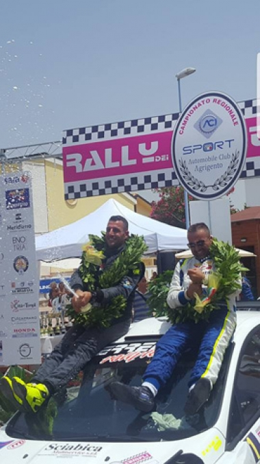 ERREFFE RALLY TEAM-BARDAHL A PIANCAVALLO E AL TEAM 971