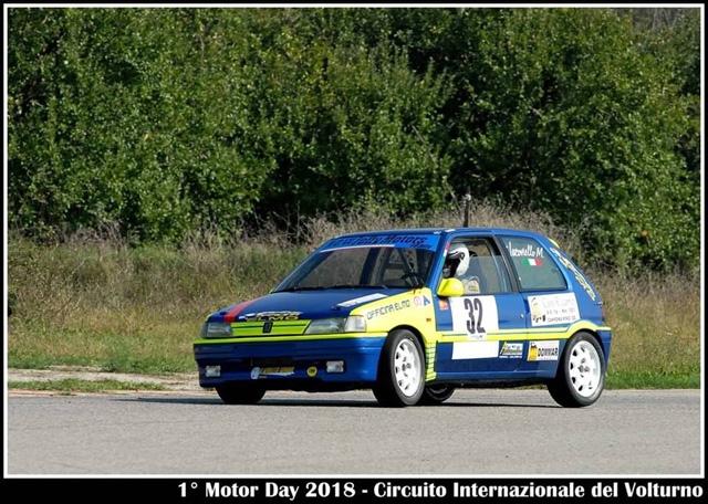Marco Iacoviello su Peugeot 106 al 9°Slalom dei Monti Ernici