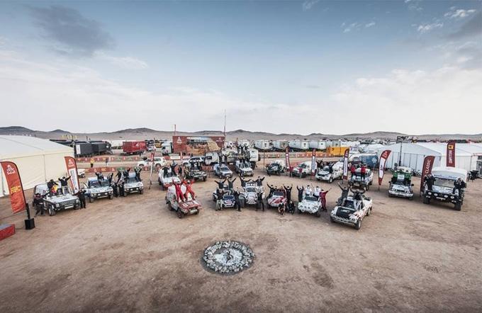 Carcheri e Musi in controllo nella settima tappa della Dakar 2021
