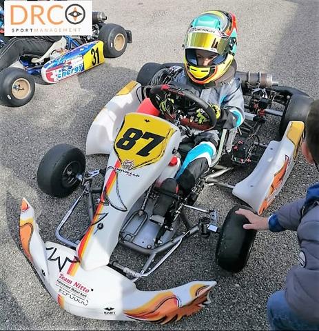 Campionato Regionale Campania Karting: buono il debutto a Iscaro per Giuseppe Noviello