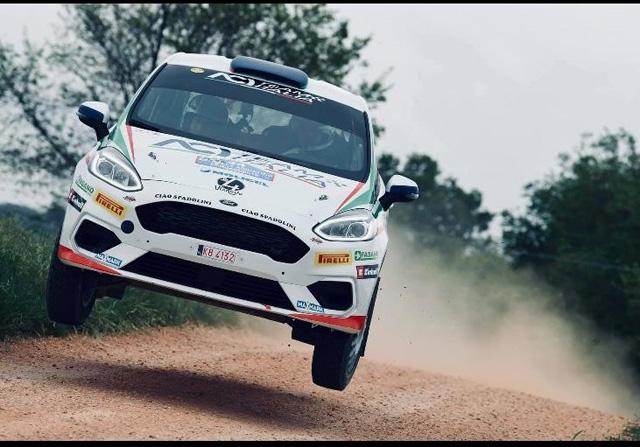 Rally Italia Sardegna 2019: Giuseppe Testa dimostra ancora una volta il suo talento, ma la sfortuna lo ferma nuovamente