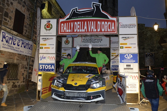 MARCO GIANESINI NELLA TOP TEN DEL RALLY VAL D'ORCIA