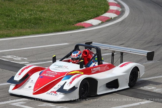 RO racing in pista con Saverio Miglionico