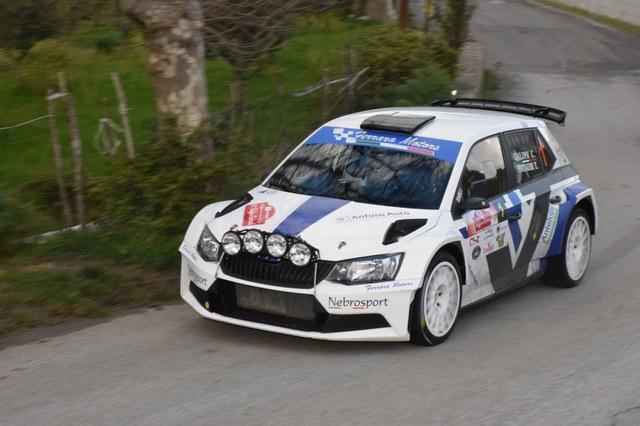 Galipò - Pintaudi su Skoda vincono il 20° Rallye dei Nebrodi