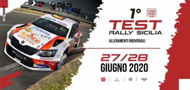 Test Rally in Sicilia il 27 e 28 giugno
