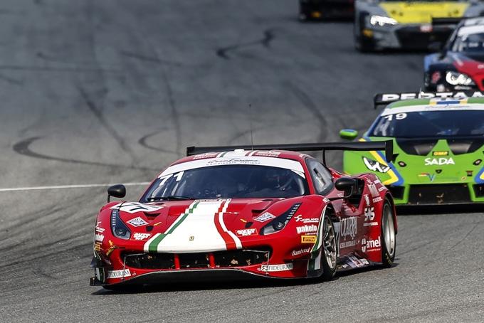 Rovera al gran finale del Tricolore GT su Ferrari a Vallelunga