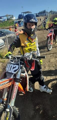 Motocross: Lorenzo De Cesaris decimo a Vetralla nella 125 Senior