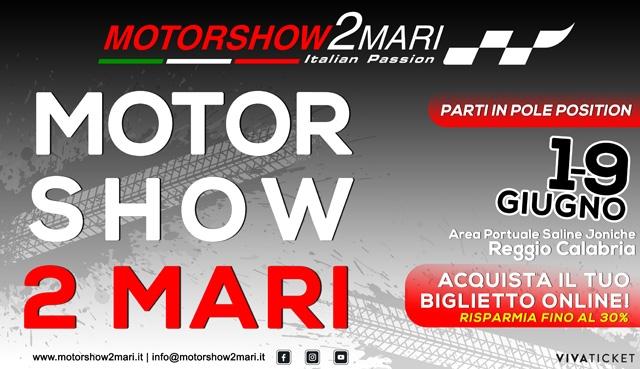 Motorshow 2Mari, parte domani la prevendita dei biglietti d'ingresso. Prezzi popolari, agevolazioni e imperdibili sorprese