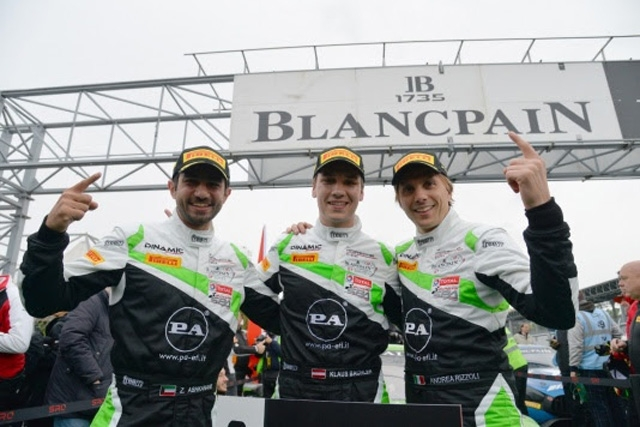 Porsche vince la 3H of Monza con la 911 GT3 della Dinamic Motorsport guidata da Bachler-Rizzoli-Ashkanani