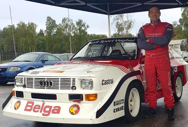 Magliona Motorsport al 17° Rallylegend con Mela e l'Audi S1