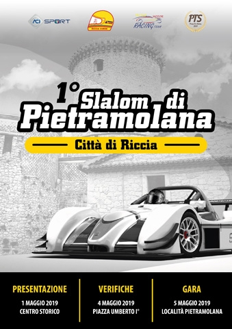"""La ASD Riccia Corse e Tecno Motor Racing Team è pronta a presentarvi il ritorno dello """"Slalom di Pietramulana"""" - Città di Riccia: dopo 13 anni di stop siamo pronti a riaccendere i motori."""