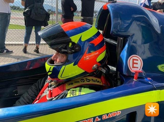 Alberto Scarafone al Circuito Internazionale di Napoli