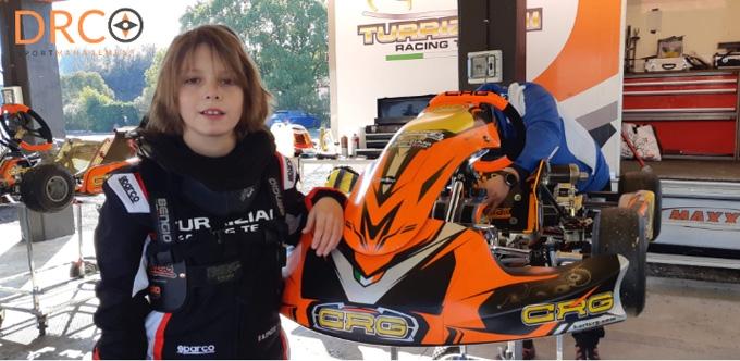 Bottino pieno per Samuele Spiezio nel 1° Round del Campionato Regionale Karting Lazio.