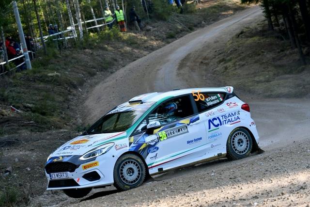 Marco Pollara e Maurizio Messina nella top ten al Rally di Svezia JWRC