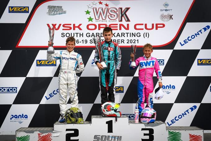 Concluso con un bel successo il primo round della WSK Open Cup