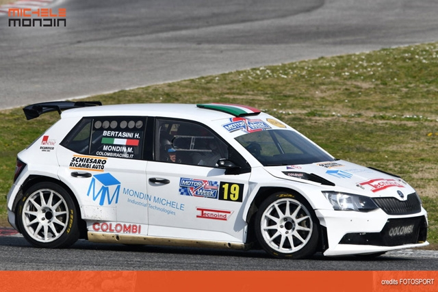 CHE DIVERTIMENTO PER MONDIN ALL'ADRIA RALLY SHOW