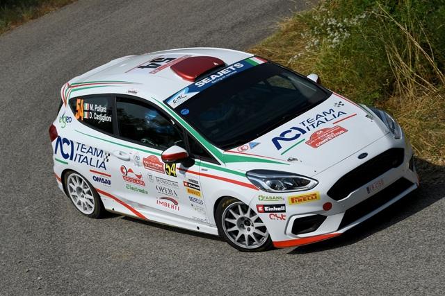 Marco Pollara con Rosario Siragusano  al 55° Rally del Friuli Venezia Giulia