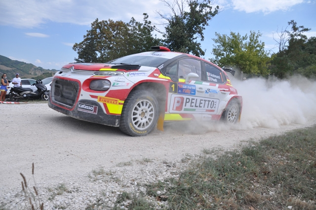 Paolo Andreucci e Francesco Pinelli all'attacco del Rally Adriatico