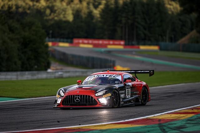 Alla 24 Ore di Spa TotalEnergies 2021 Marciello guadagna la seconda Super Pole consecutiva con la Mercedes-AMG del Team AKKA ASP