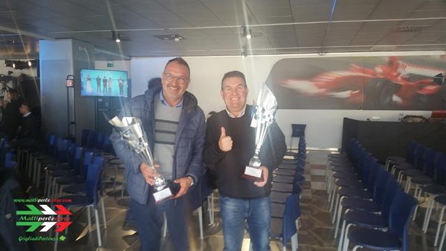 Bartolomeo Solitro e Alberto Porzio premiati al Monza Eni Circuit