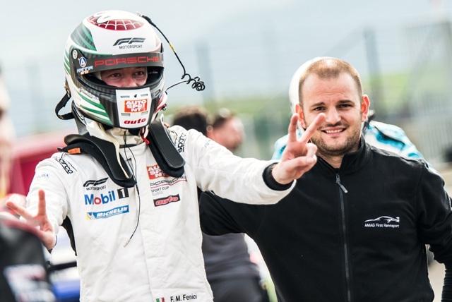 Fenici brilla anche al Mugello nella Porsche Sports Cup Suisse