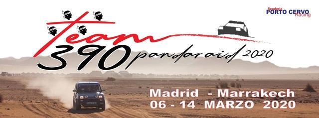 """La Porto Cervo Racing inizia il 2020 da un evento internazionale. Il Team, con i portacolori Fabrizio Musu e Igor Nonnis, prenderà il via al """"Panda Raid""""."""
