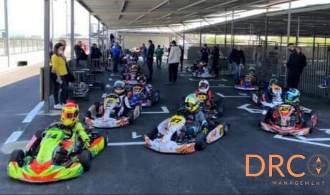 XXII Trofeo Karting G. Pagliuca a Napoli: per la DrcSportManagement in pista Coco, Noviello e Verde