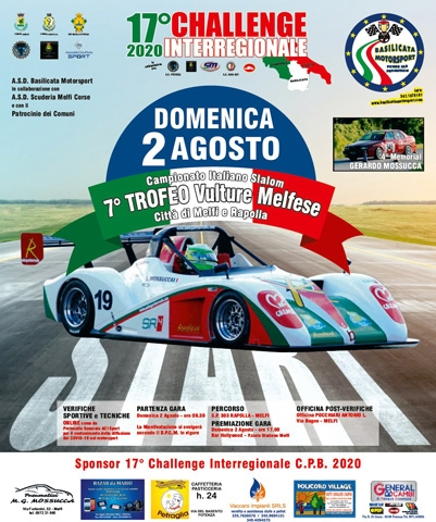 bandiera verde per il campionato italiano slalom acisport 2020