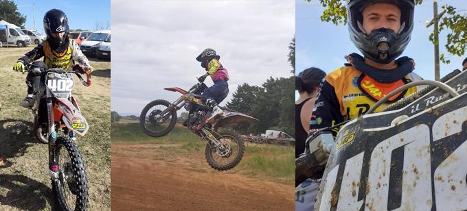 Campionato Regionale Lazio Motocross: altra buona prova di Lorenzo De Cesaris al Tridente di Nettuno