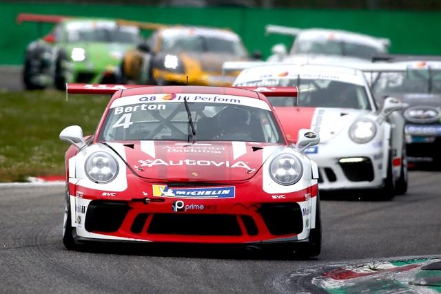 AB Racing protagonista a Monza alla prima della Carrera Cup Italia