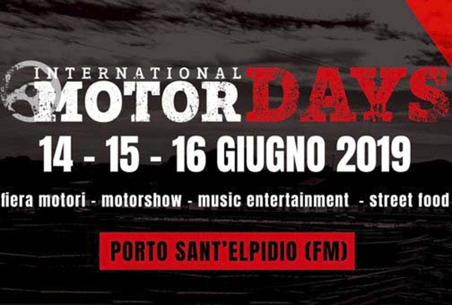 L'AUTOMOBILE CLUB ASCOLI PICENO-FERMO AL 3° INTERNATIONAL MOTOR DAYS DI PORTO SANT'ELPIDIO (14-16 giugno)