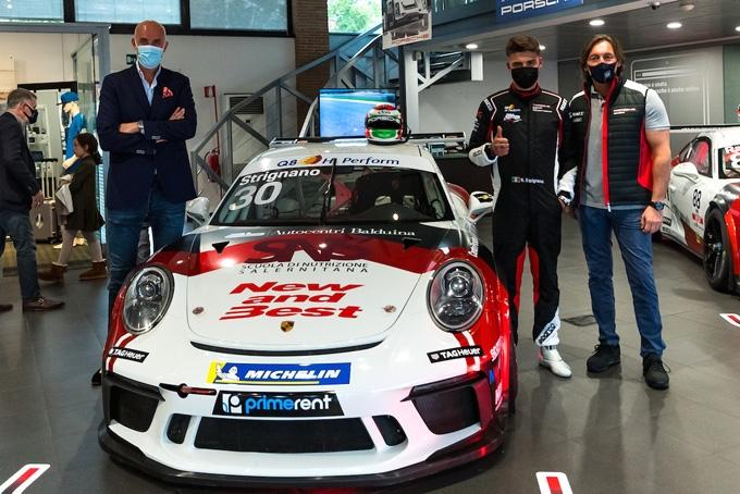 AB Racing da Misano con un tris di vetture nella Carrera Cup Italia