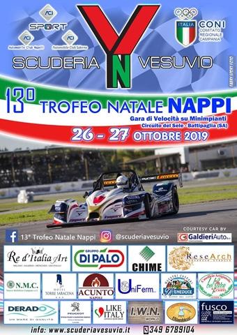 Alle porte il 13º Trofeo Natale Nappi, la grande festa della Scuderia Vesuvio.