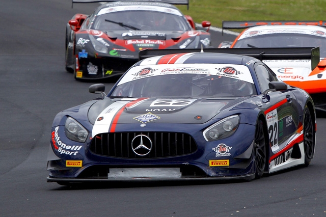 Rovera rilancia la sfida nel Tricolore GT Sprint a Imola su Mercedes