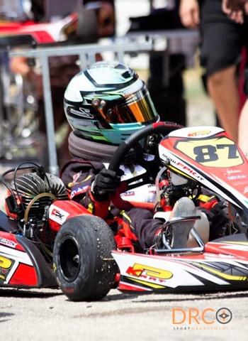 Debutto nel Campionato Regionale Campania Aci di Kart, categoria Mini Under 10, per Giuseppe Noviello
