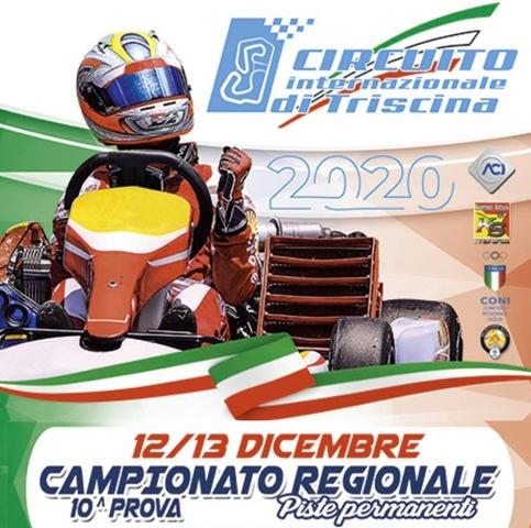 A Triscina l'ultimo round del Campionato Regionale karting