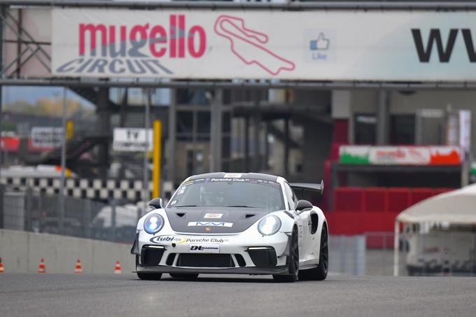 Primo round del Porsche Club GT 2021 al Mugello con numeri record