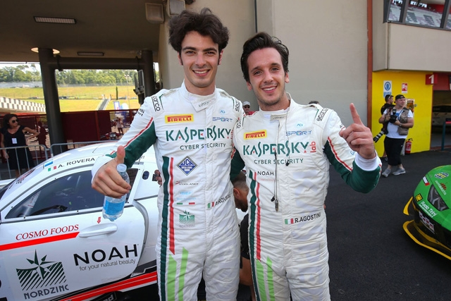 Pole assoluta e trionfo per Rovera al Mugello nel Tricolore GT Sprint