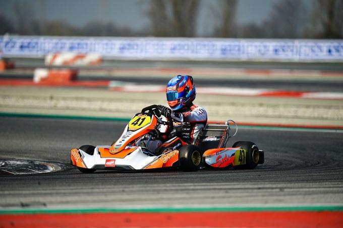 Le prime pole position della stagione WSK 2021