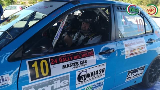 Soddisfazioni per l'ASD Piloti Sipontini al 24° Rally del Molise