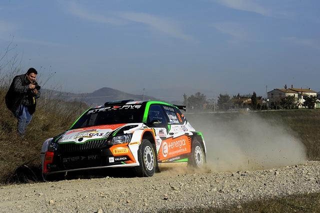 """Grande debutto stagionale per Francesco Fanari: al rally Val d'Orcia è """"argento""""."""