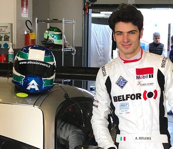 Rovera all'esordio sulla Mercedes-AMG GT3 a Monza