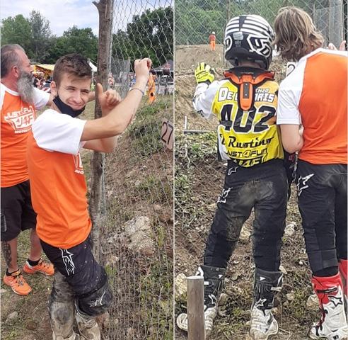 Campionato Regionale Lazio Motocross: Lorenzo De Cesaris in Top Ten