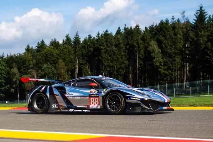 Rovera conclude la ELMS 2021 a Portimao su Ferrari