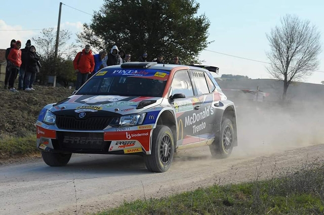 ERREFFE RALLY TEAM-BARDAHL: BUON INIZIO DI RACE DAY PER BETTEGA