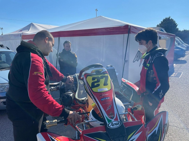 Debutto positivo stagionale per Norelli Francesco