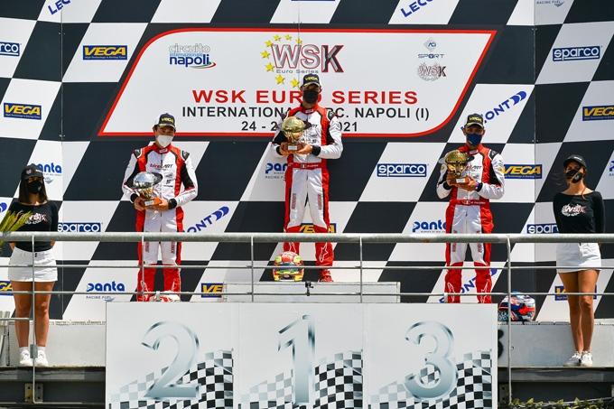 Conclusa a Sarno con un bel successo la WSK Euro Series