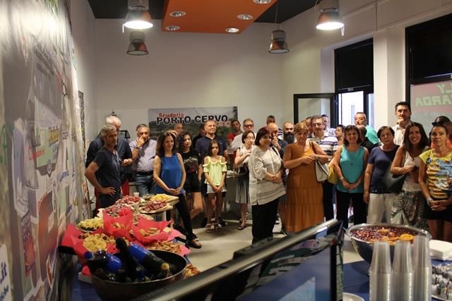 Ad Arzachena inaugurata la nuova sede della Porto Cervo Racing.