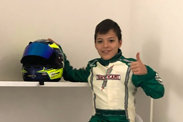 MARENGHI NELLA LINE UP 2019 DEL TEAM GAMOTO - TONY KART