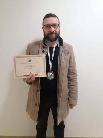Angelo Martucci premiato dalla Comunità Rotaliana per la stagione 2018